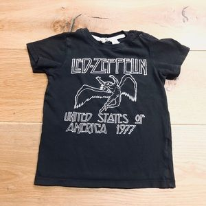 H&M Baby LED-ZEPPELIN T-Shirts | Size:1.5-2Y
